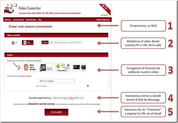 VEO Video Converter Online