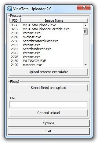 VirusTotal Uploader Portable