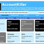 Cómo eliminar nuestro rastro en Internet de diferentes servicios web con AccountKiller…