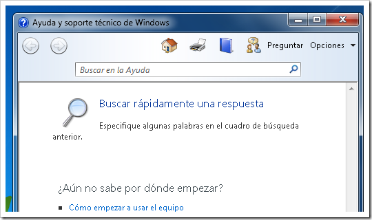 Ayuda de Windows.