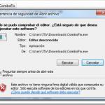 Cómo deshabilitar advertencia de seguridad al abrir programas descargados: Windows 7
