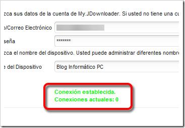 Conexion exitosa.