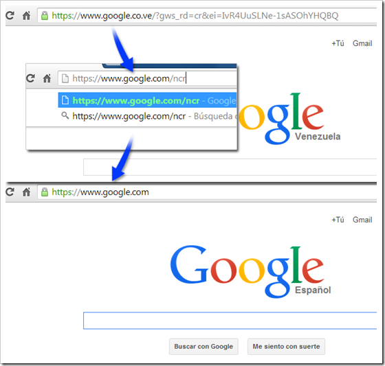 Resetear Google