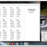 Monitorear ancho de banda y velocidad de Internet (Red) con NetTraffic en Windows 7
