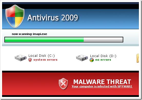 Antivirus 2009 - FakeAvs