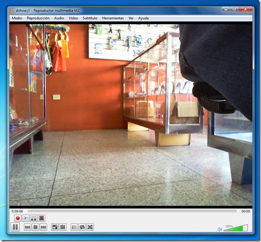 Capturar la camara web