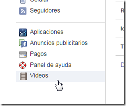Videos de Facebook
