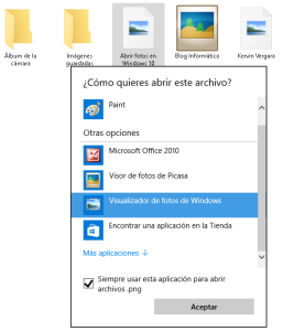Abrir fotos en Windows 10 - 2