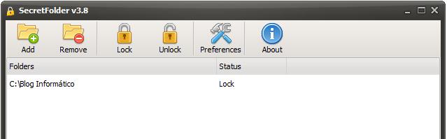 Secret Folder - Bloquear carpeta con clave